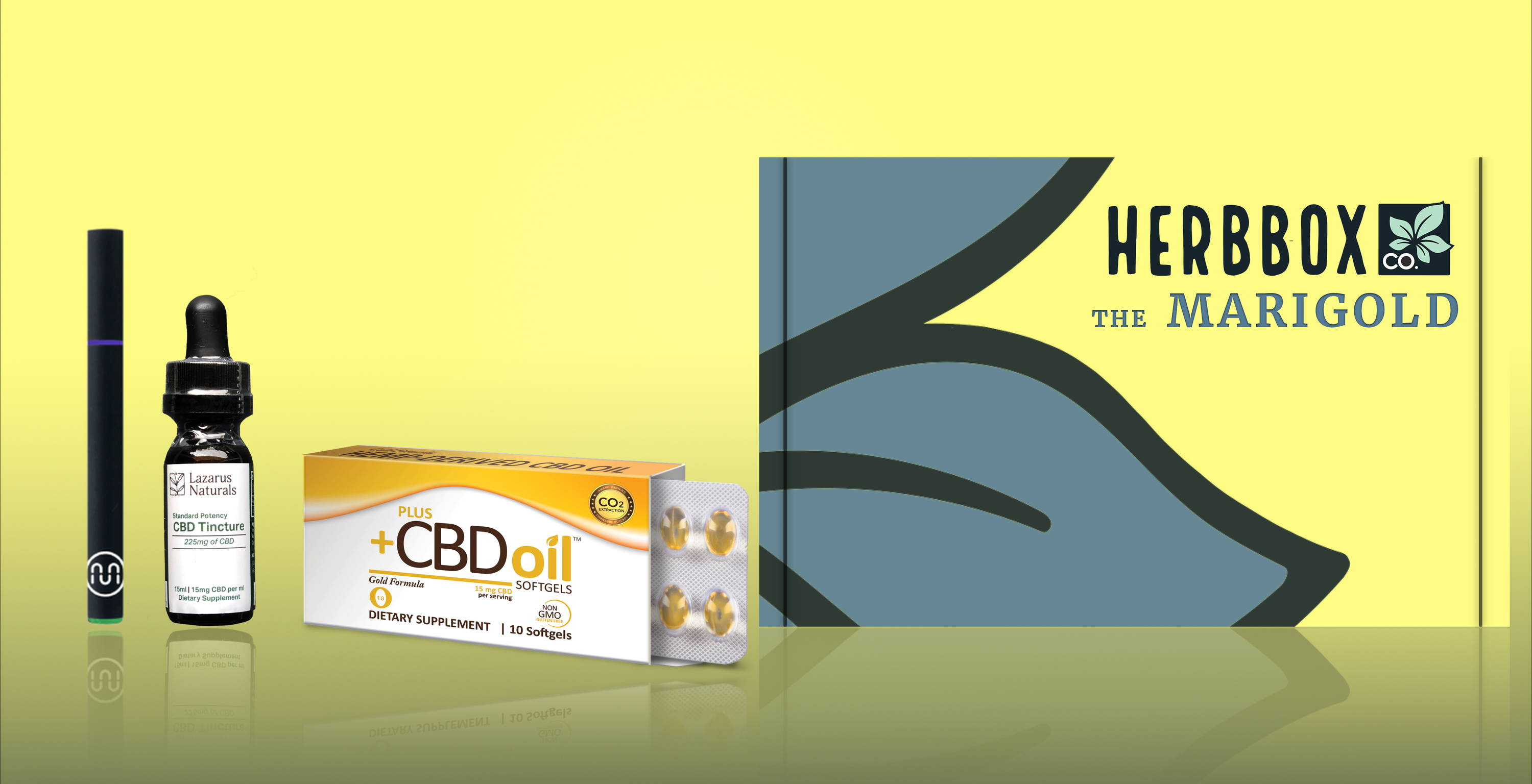 The Marigold - The Ultimate CBD Starter Pack