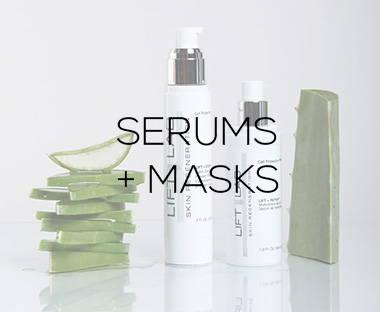 Serums + Masks