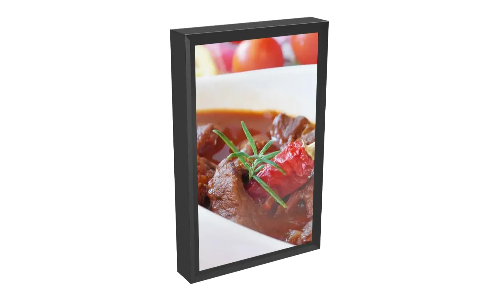 The TV Shield PRO Portrait Outdoor TV Enclosure and Digital Signage