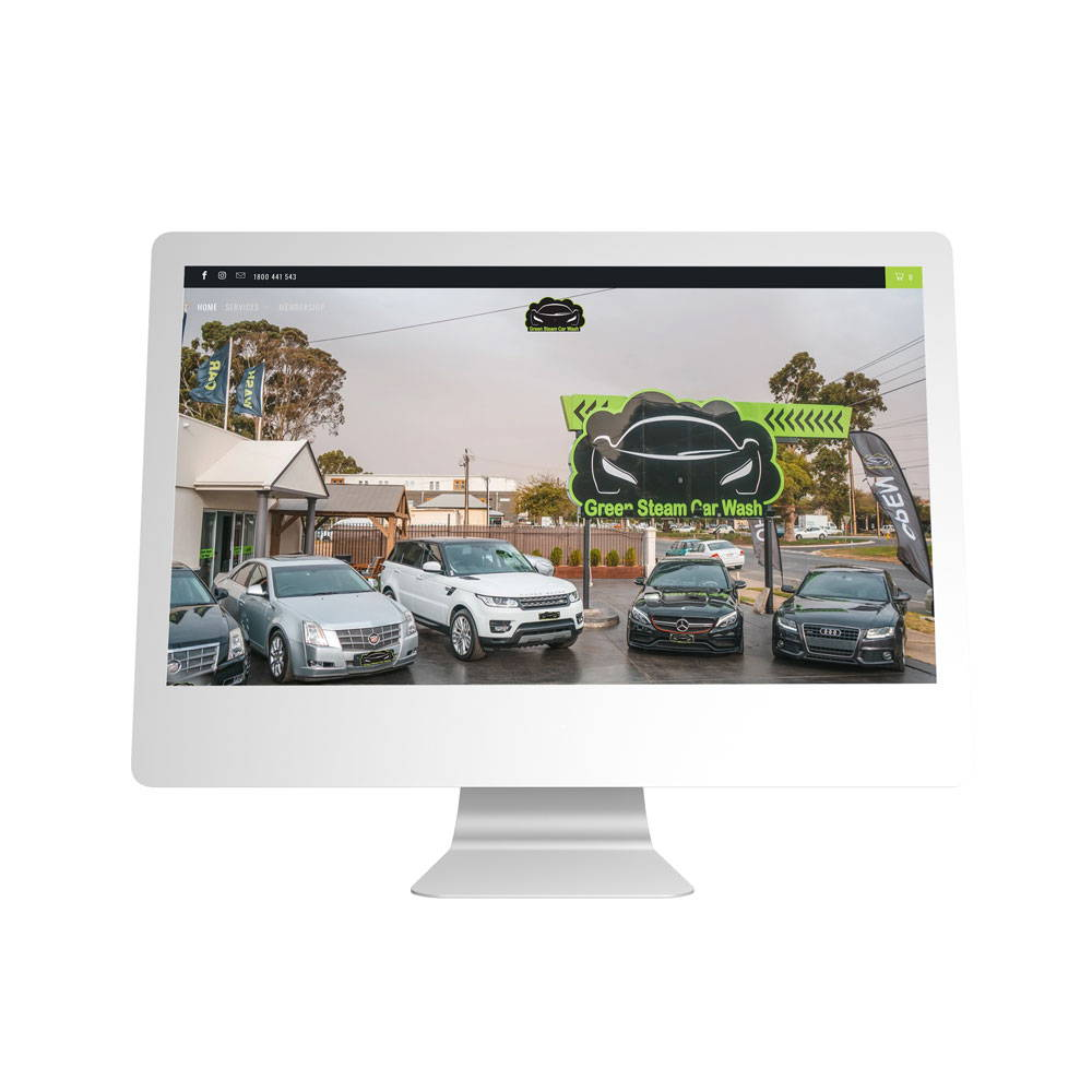 Green Steams Website Designed By MSB Solutions