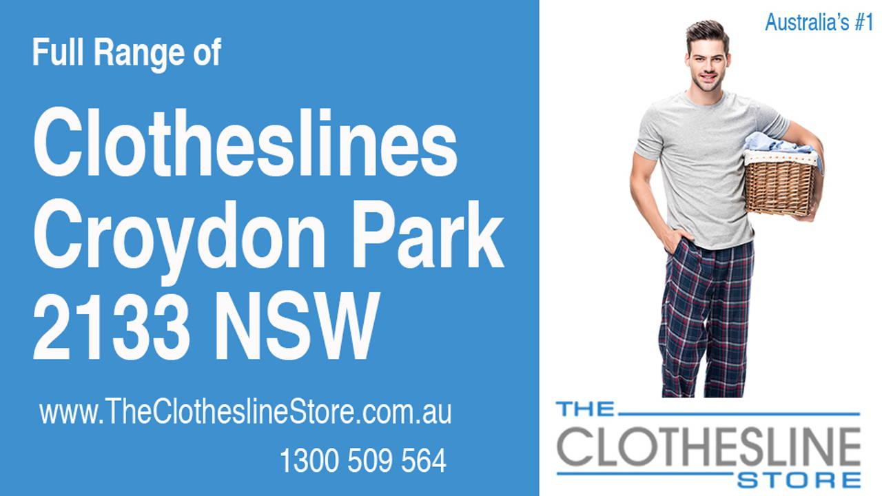 Clotheslines Croydon Park 2133 NSW