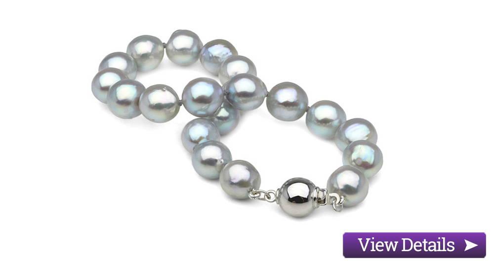 Akoya Pearl Jewelry Styles: Blue Akoya Pearl Bracelets