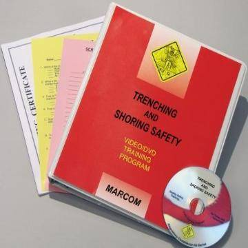 Trenching and Shoring Safety in Construction DVD