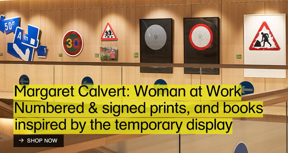 Margaret Calvert: Woman at Work