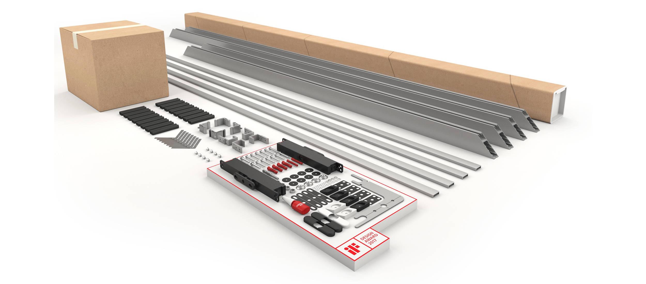 Portapivot 6530 self-assembly kit