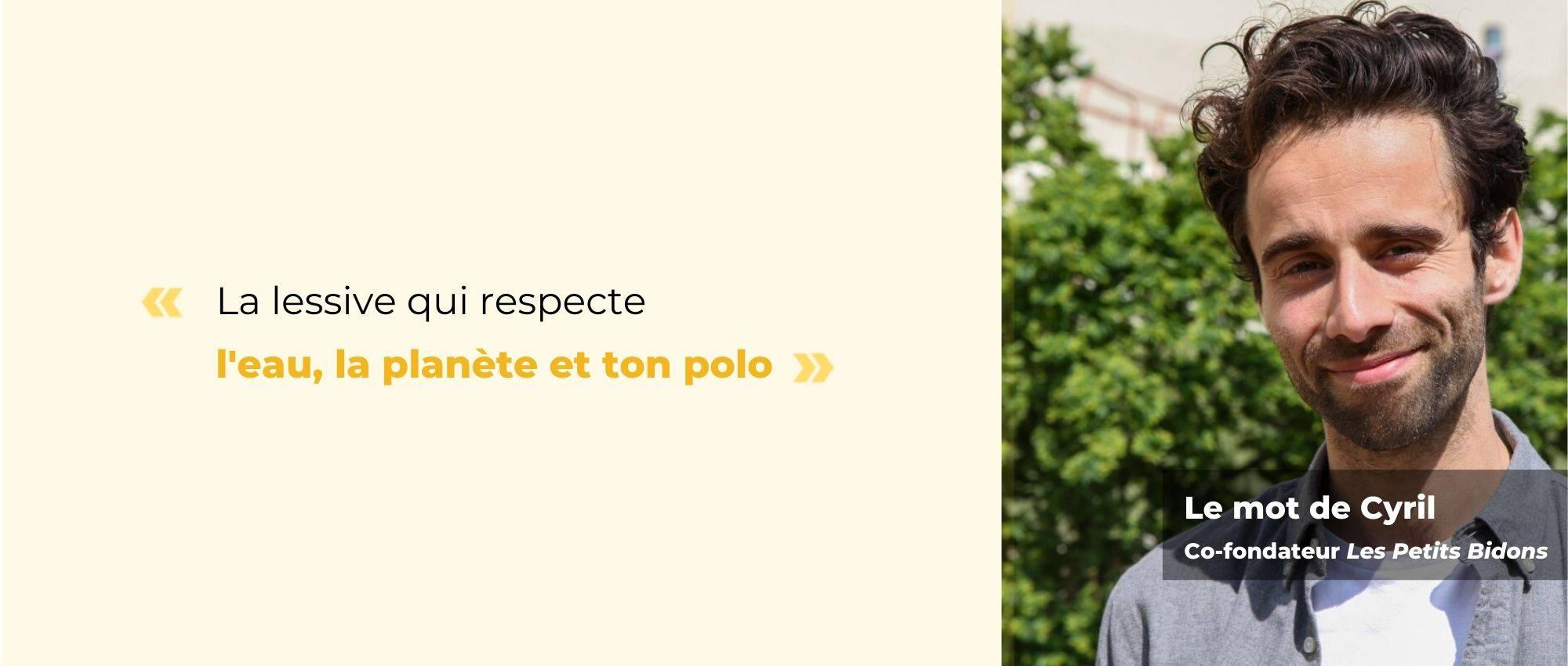 Lessive écologique Romarin - The trust society - Les petits bidons