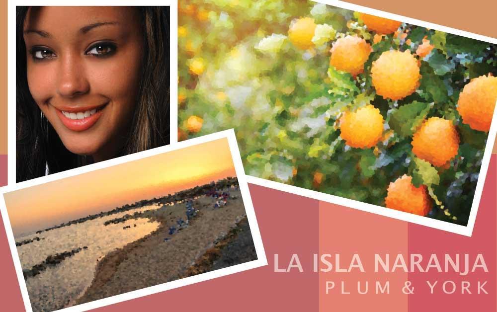 La Isla Naranja lipstick by Plum & York