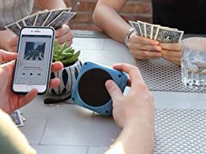 Connect speaker via bluetooth