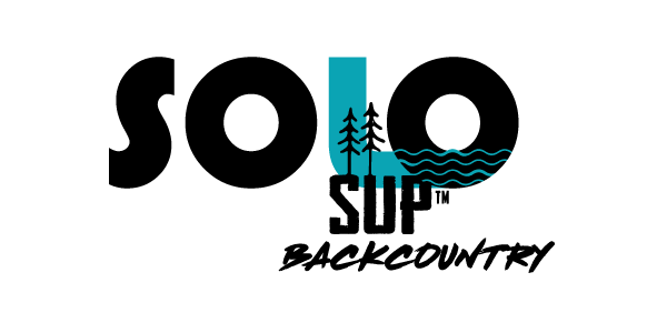 Solo SUP worlds first hikeable paddleboard logo