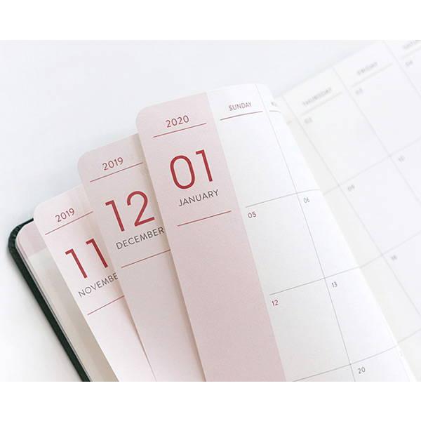 100gsm paper - 2020 Prism Slim Diary
