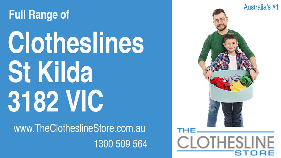 New Clotheslines in St Kilda Victoria 3182