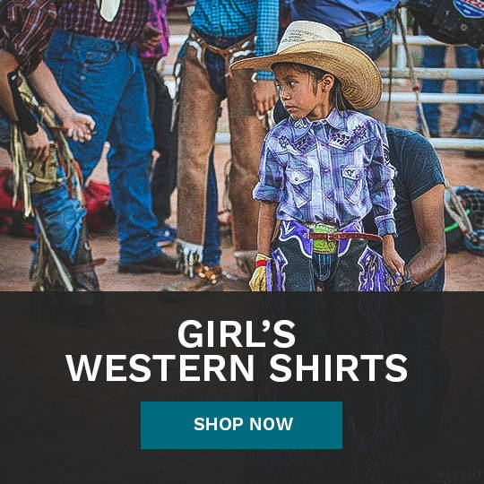 Girl's Western Shirts  from Cowboy & Cowgirl Hardware