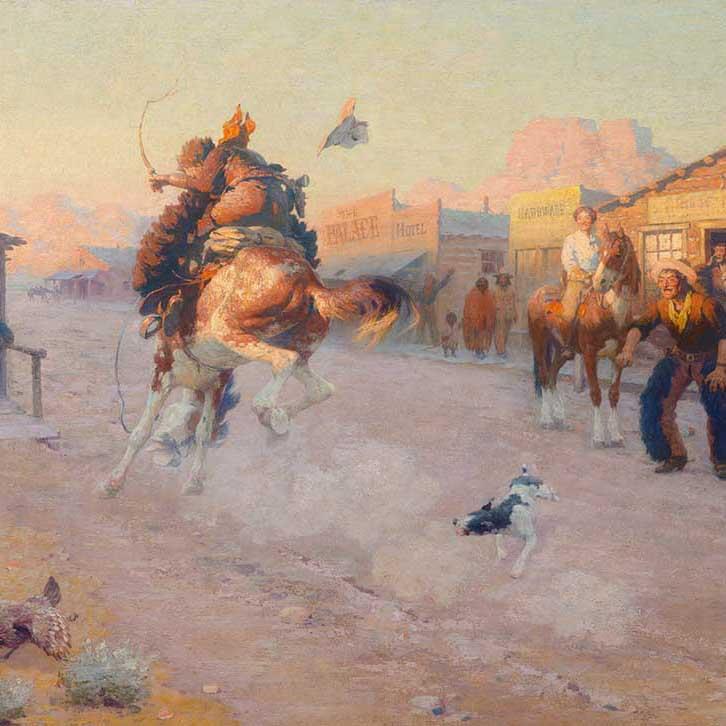 William Robinson Leigh Art