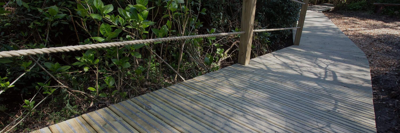 Jungle Boardwalk with Gripsure Decking