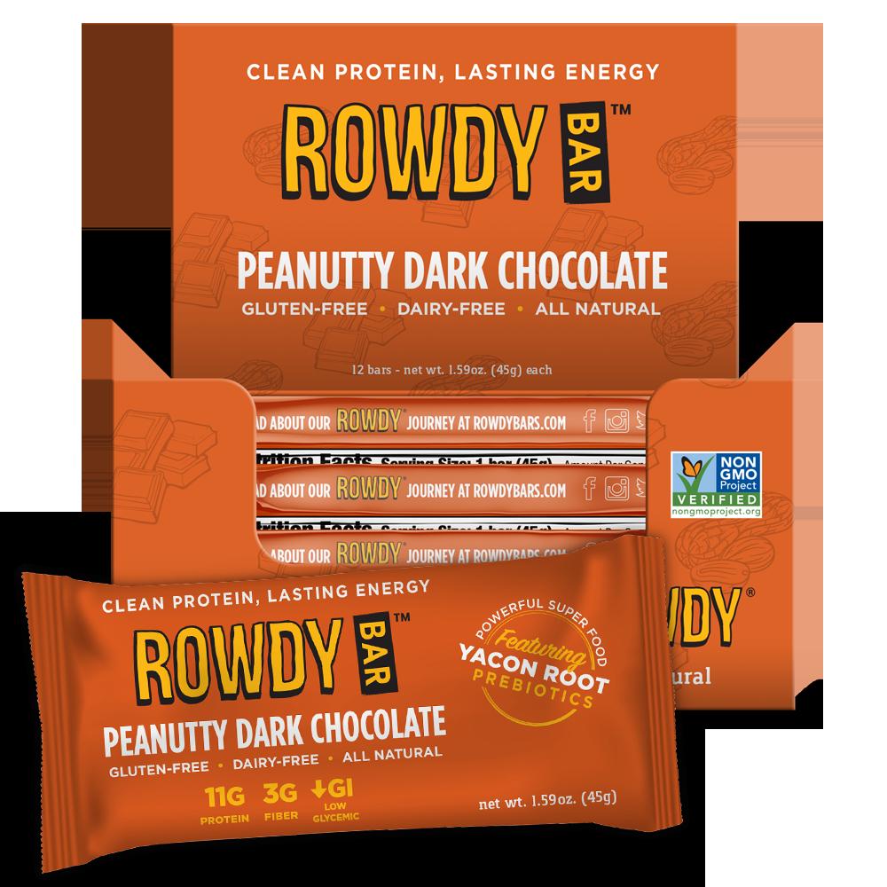 Peanutty Dark Chocolate