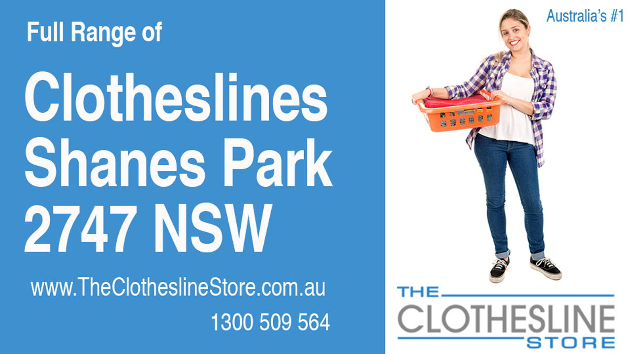 New Clotheslines in Shanes Park 2747 NSW