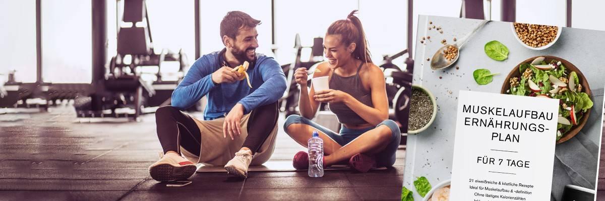 Ernährungsplan Muskelaufbau