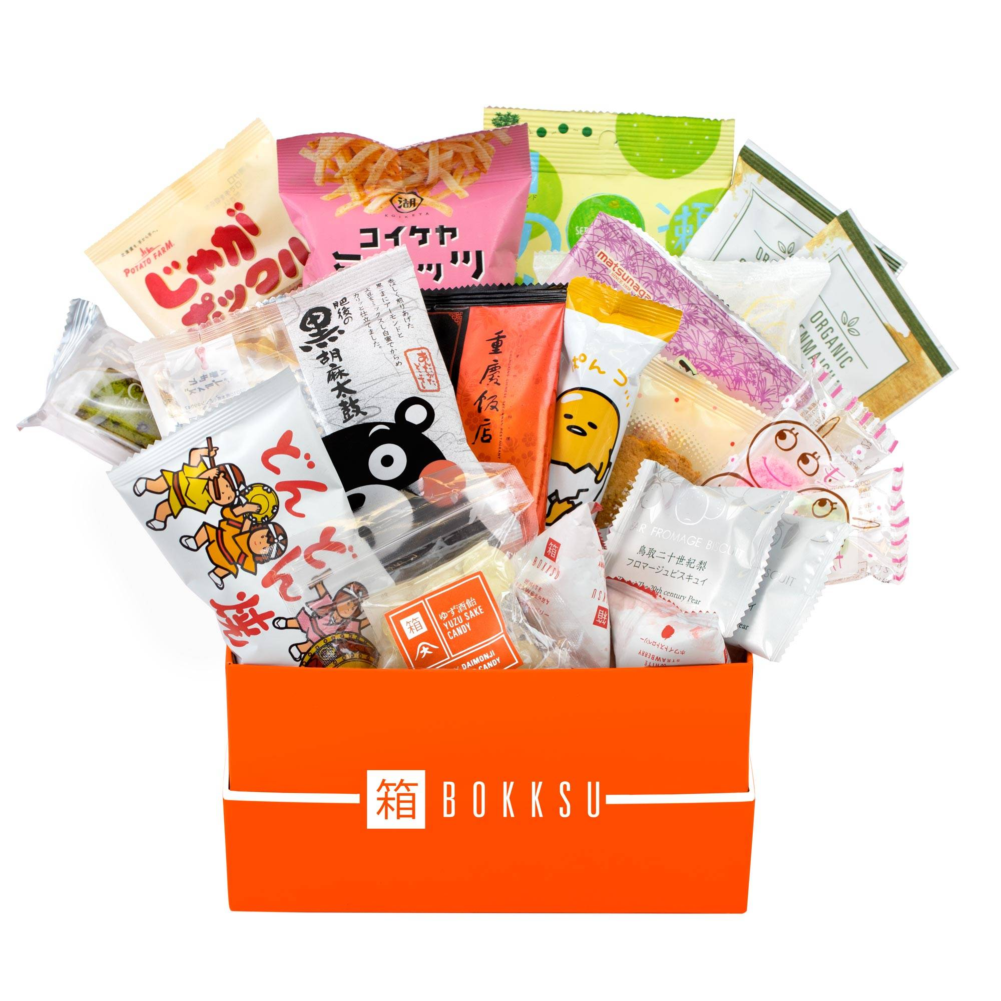 Bokksu subscription box - best Japanese snacks