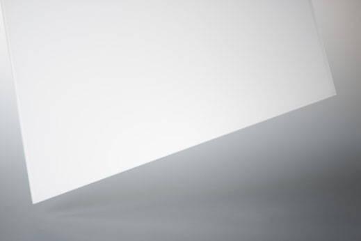 4mm ESG Optiwhite weiss lackiert
