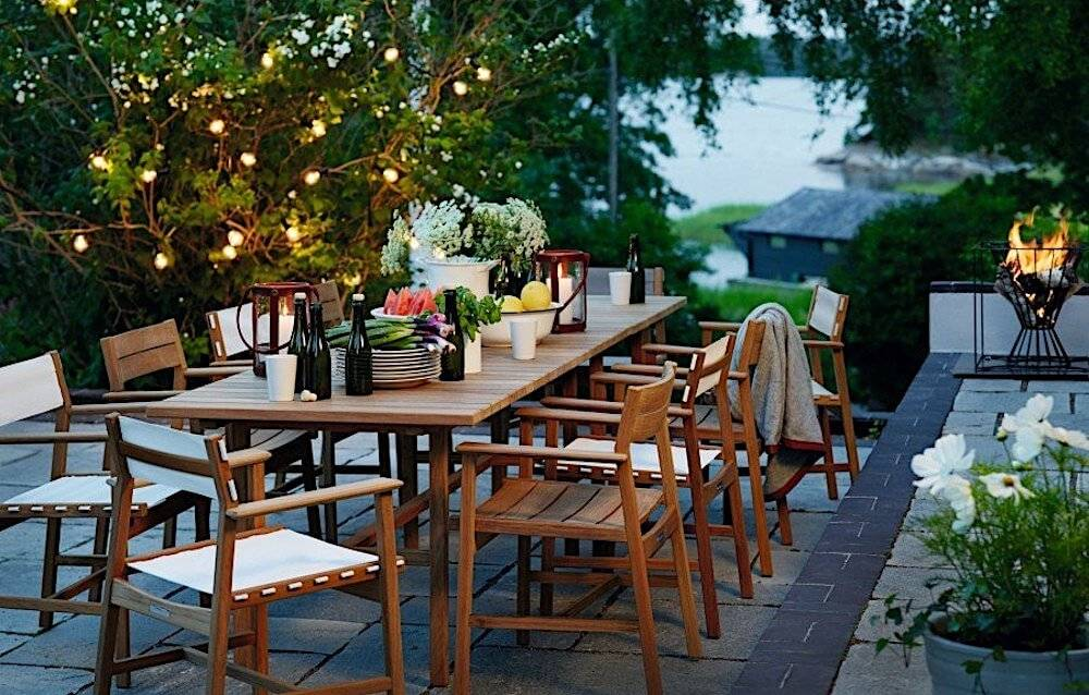Teak Outdoor Furniture - Dining Furniture