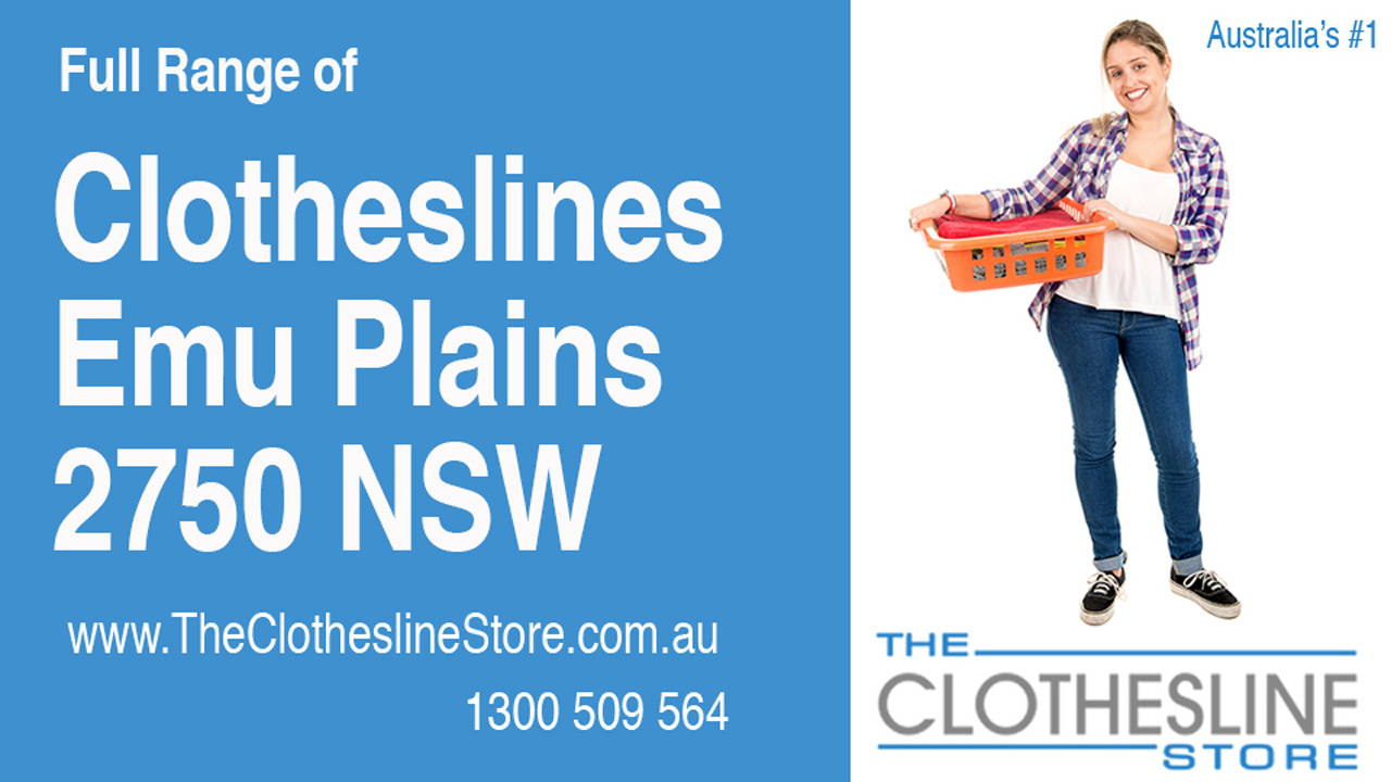 New Clotheslines in Emu Plains 2750 NSW