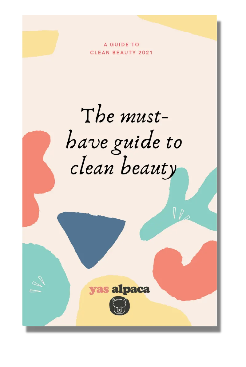 Yas Alpaca cover page The Must-Have Guide To Clean Beauty