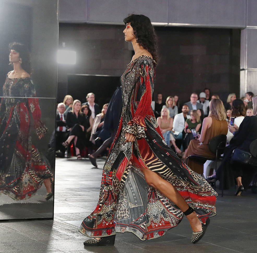 CAMILLA London Calling Dress, CAMILLA David Jones Runway