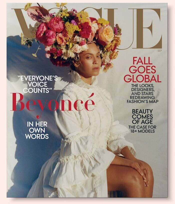 Beyonce Vogue September 2018 Cover
