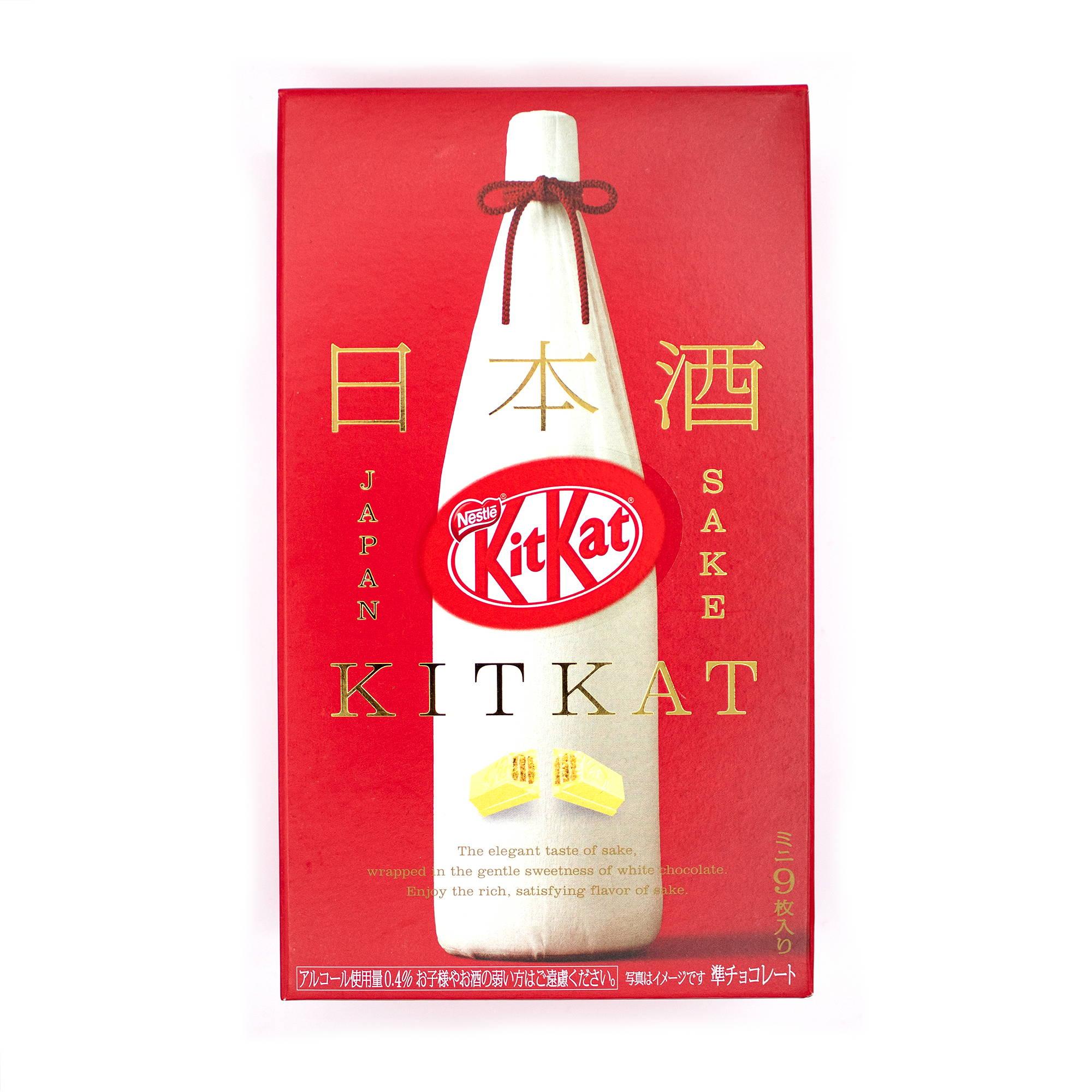 Japan Sake nihonshu Kit Kat
