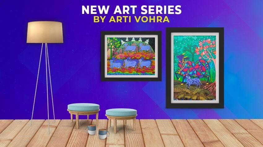 ARti Vohra Paintings Online for SAle