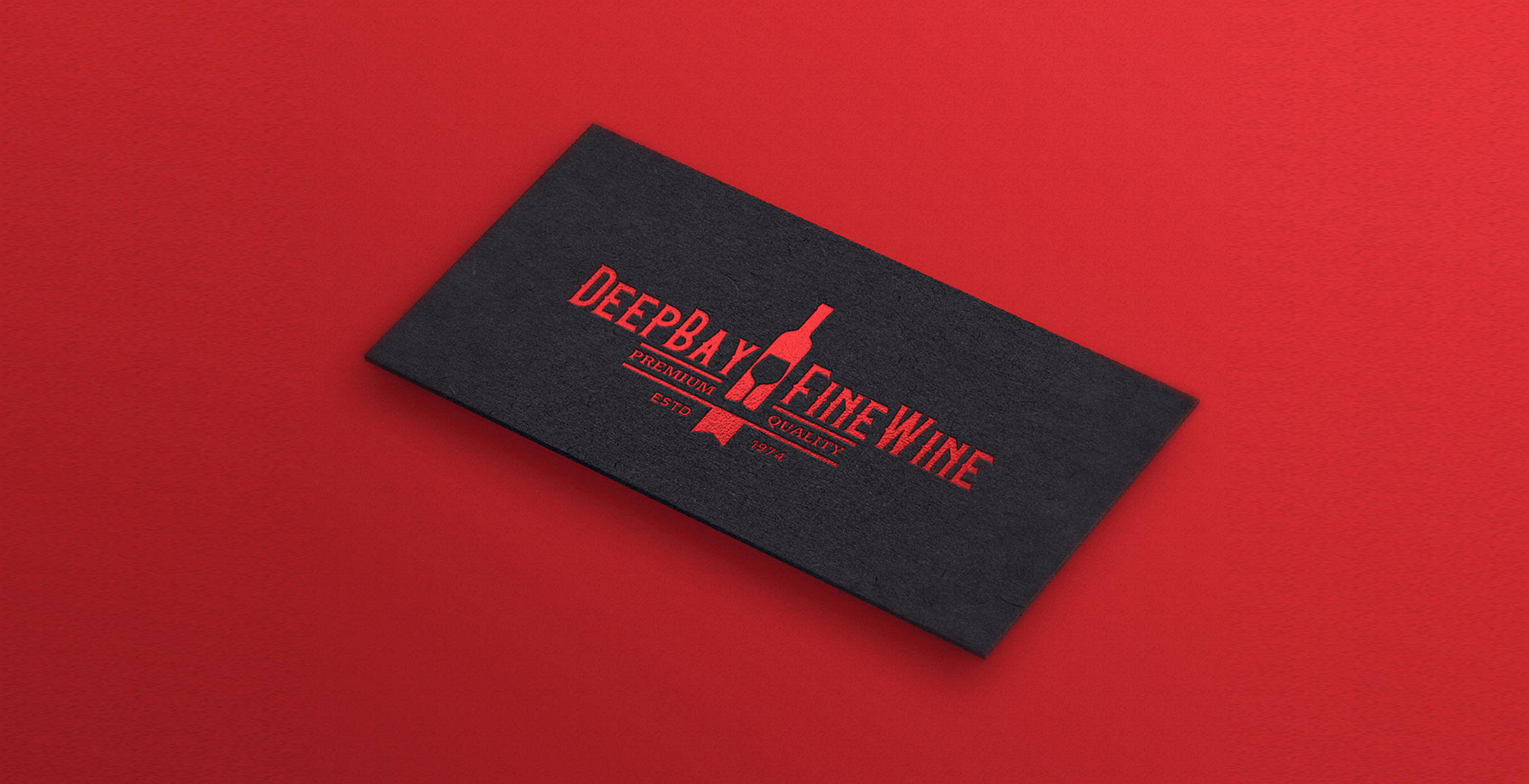 Debossed red foil-stamping | Premium printing by Blank Sheet