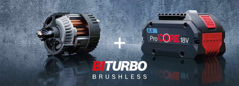 Introducing BiTURBO Brushless from Bosch