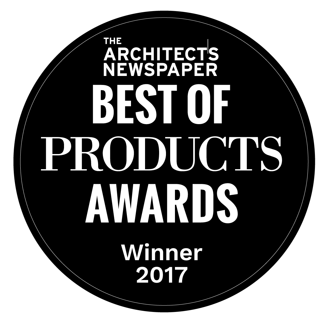 The architects newspaper best of products awards winner 2017