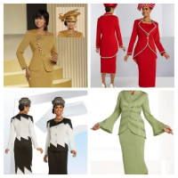 Elegance Fashions | Designer Women Church Suits Clearance Sale Fall 2021