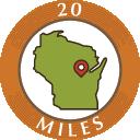 20 Miles
