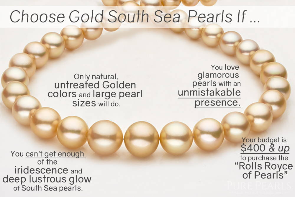 Reasons to Buy Golden South Sea Pearls