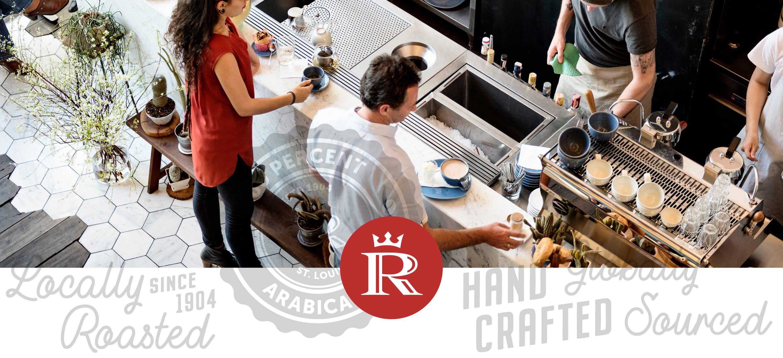 Coffee Bar Serving Ronnoco Coffee