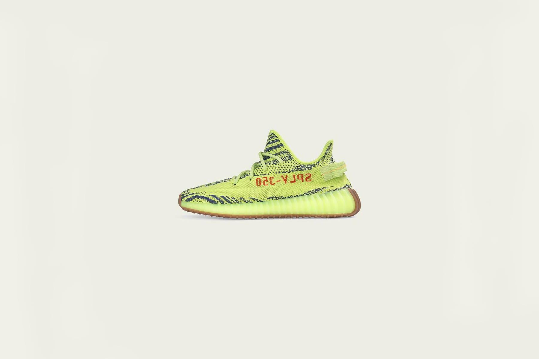 7983ee9869f Yeezy Boost 350 v2 Semi Frozen Yellow