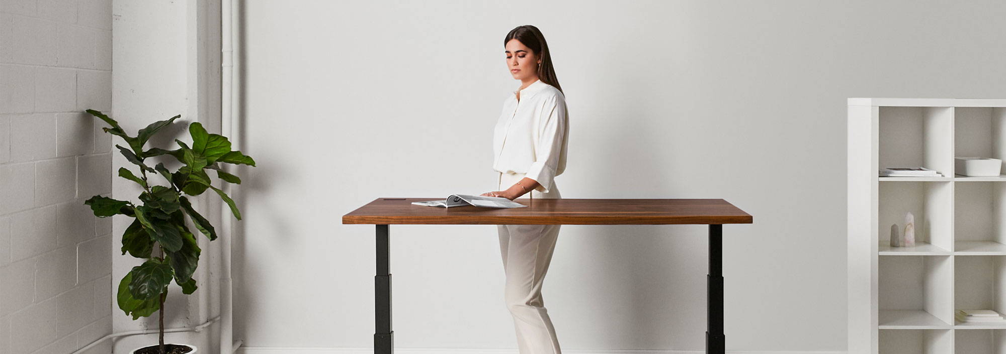 Sway sit-stand desk - ergonofis