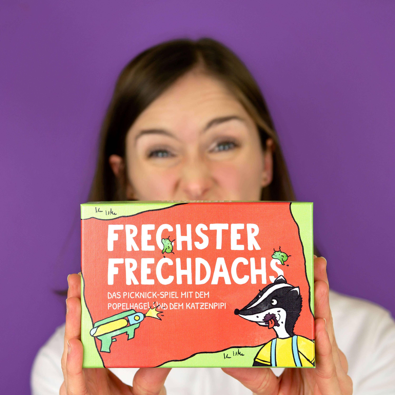 Lea präsentiert das witzige Spiel Frechster Frechdachs von Pihu.