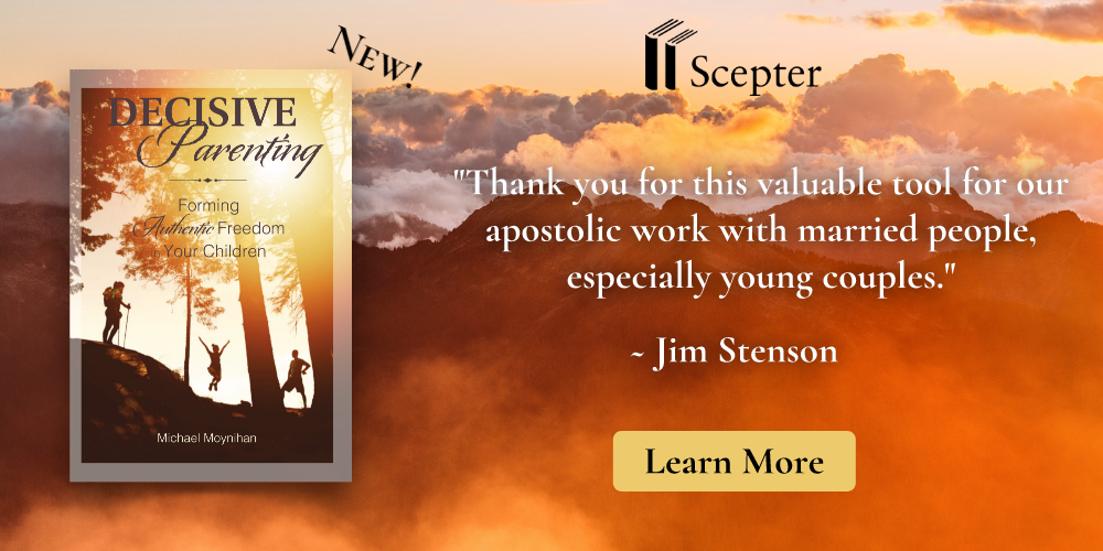 Decisive Parenting a new book by scepter