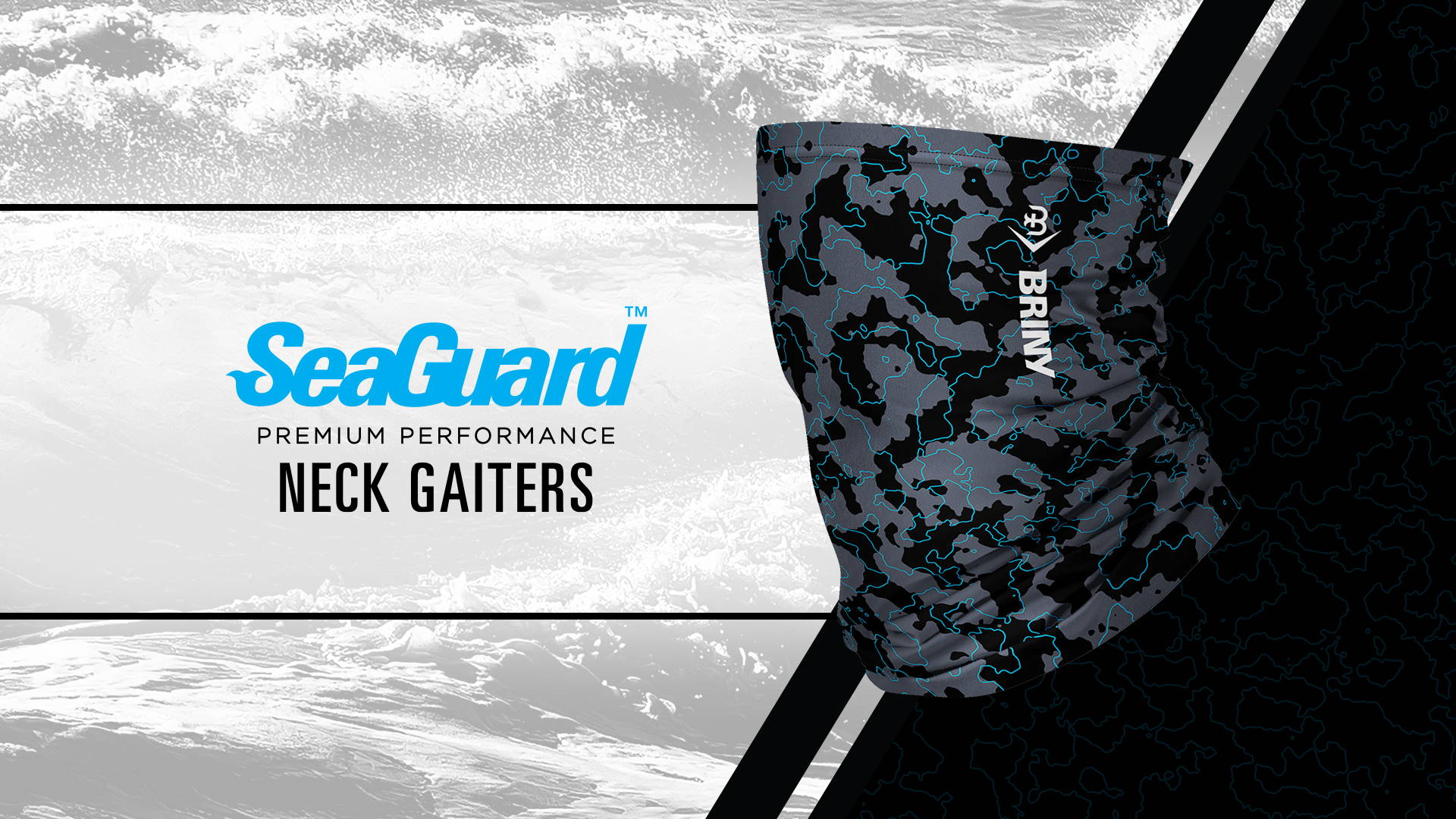 Briny Neck Gaiters for fishing