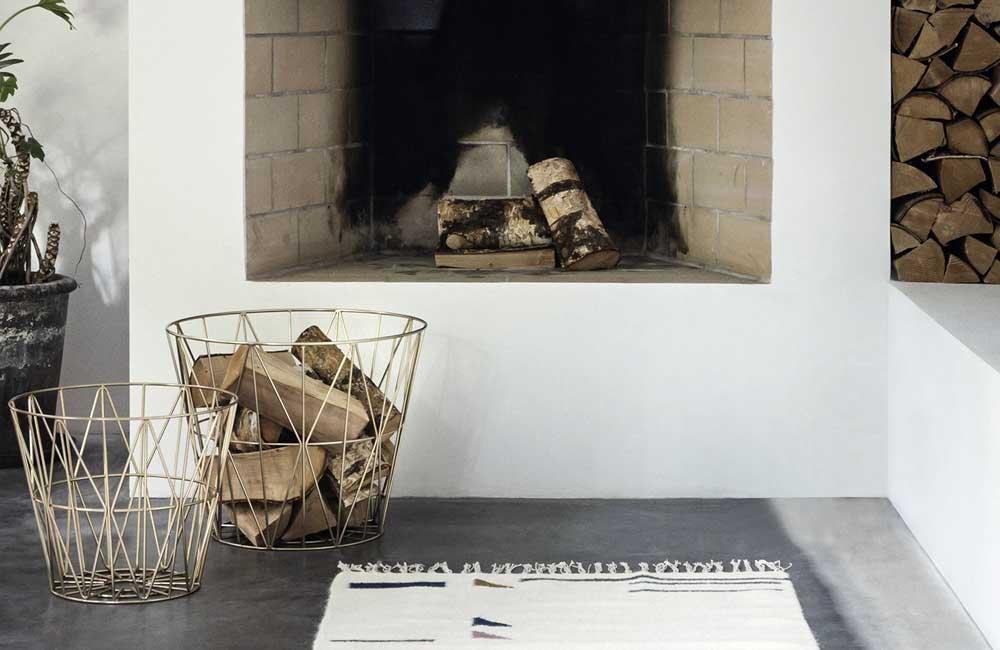 Ferm Living Wire Basket