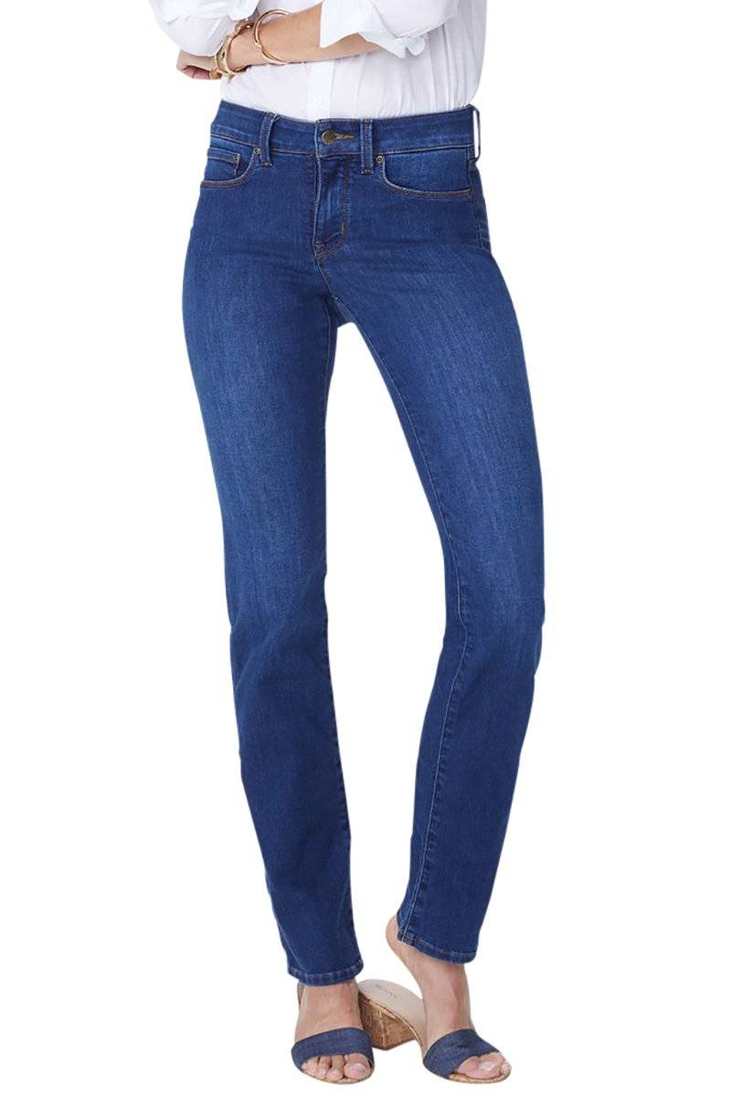 Marilyn Straight Premium Denim - Cooper