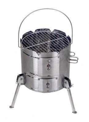 Potjieking Aluminum Charcoal Grill