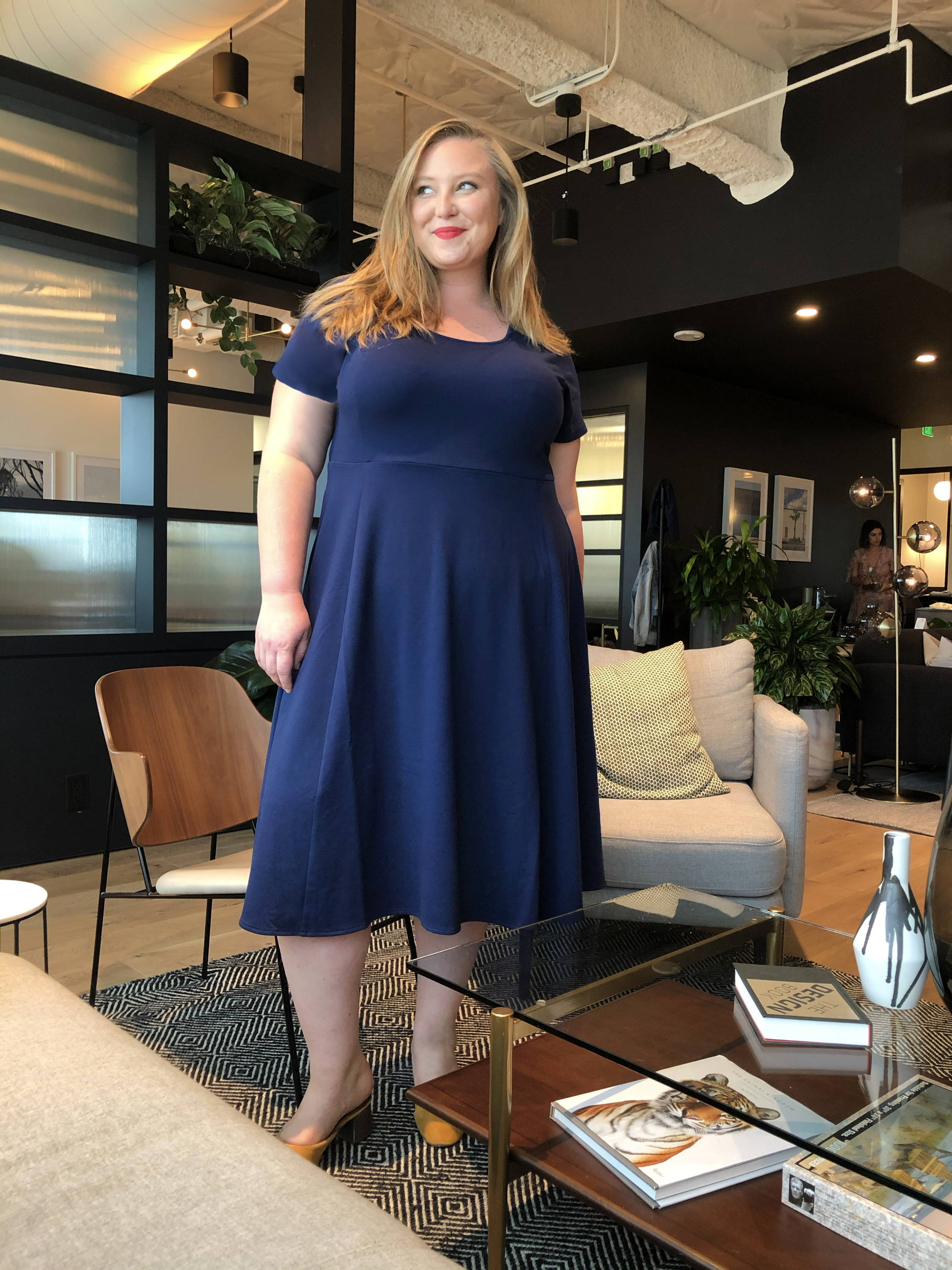 Coming Soon - The French Terry Plus Size Midi Dress