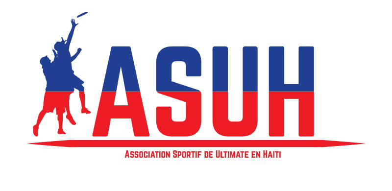 ARIA professional official ultimate flying disc for the sport commonly known as 'ultimate frisbee' ASUH association sportif de ultimate en haiti