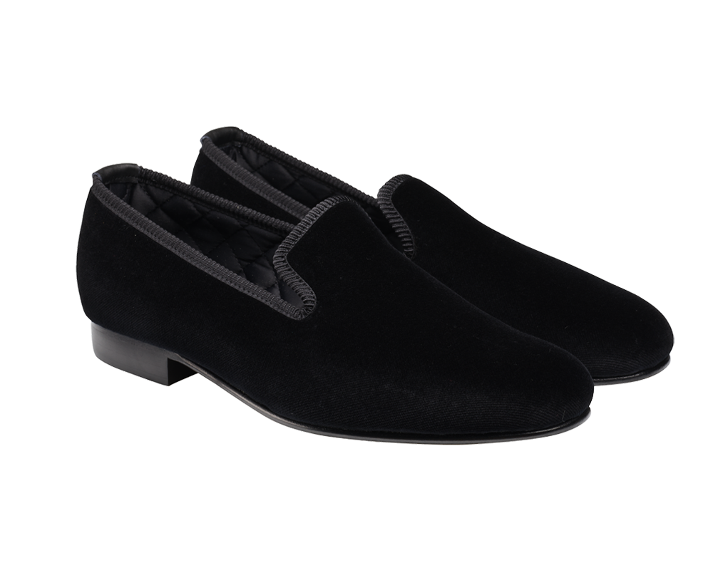 Velvet Albert Slipper