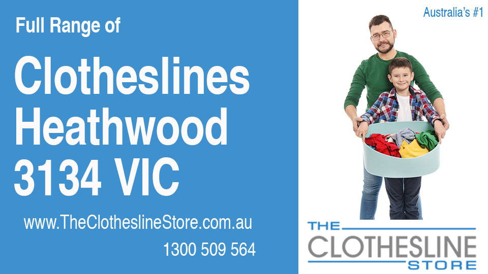 New Clotheslines in Heathwood Victoria 3134