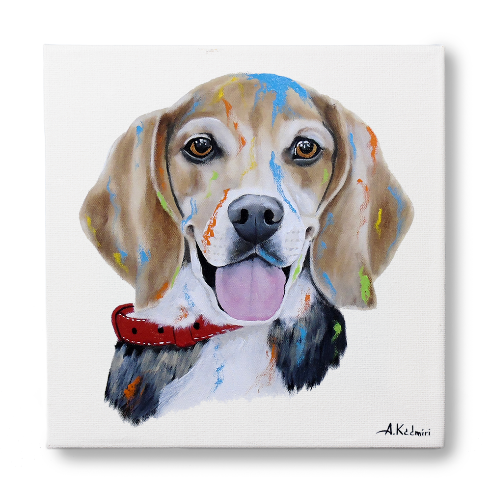 Dog Portrait - mypoochface - My Pooch Face